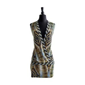 BCBGMAXAZRIA Multicolor Mini/Bodycon Dress